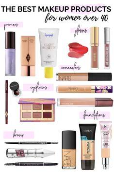 Beauty Makeup, Eye Makeup, Makeup Brushes, Makeup Tips For Older Women, Dark Eyebrows, Sheer Shades, Makeup Mistakes, Makeup Must Haves