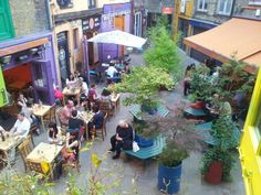 Wild Food Cafe in London, 1st floor, 14 Neal's Yard, Covent Garden, WC2H 9DP