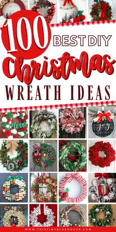 get your front door ready for the holidays with this ultimate collection of best cheap DIY Christmas Wreaths. With over 100 BEST holiday wreaths to choose from you're guaranteed to have the most festive door on the block. Christmas Ornament Wreath, Burlap Christmas, Silver Christmas, Christmas Crafts, Christmas Decorations, Holiday Decor, Cheap Christmas, Christmas Lanterns, Christmas Trees