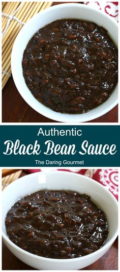 BEST Homemade Black Bean Sauce (aka Black Bean Garlic Sauce or Black Bean Paste) An incredible depth of flavor, this sauce will work magic on any dish you add it to. The the absolute BEST, you'll NEVER use store-bought again! Chinese Sauce Recipe, Korean Black Bean Sauce Recipe, Black Pepper Sauce Recipe, Chinese Garlic Sauce, Sauce Recipes, Cooking Recipes, Dishes Recipes, Recipies, Black Bean Paste