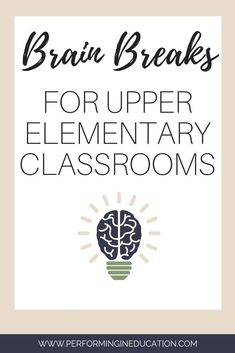 Brain breaks for upper elementary kids are AMAZING! Check out my extensive list of free ideas for brain breaks! Check out this free list of brain breaks you can do in your upper elementary classroom. Refresh their brains with easy and fun brain breaks! Brain Breaks Middle School, Brain Breaks For Kindergarten, Kindergarten Math, Elementary Teacher, Upper Elementary, Elementary Schools, Classroom Activities, Elderly Activities, Dementia Activities