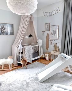 New Baby Room Decoration Ideas Baby Bedroom, Baby Room Decor, Nursery Room, Kids Bedroom, Nursery Decor, Baby Room Design, Nursery Inspiration, Girl Room, New Baby Products