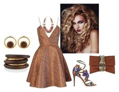 """""""Untitled #1708"""" by bsimon623 ❤ liked on Polyvore featuring Joana Almagro, Jimmy Choo, NEST Jewelry, NAKAMOL and Marni"""