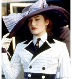 dawson in titanic more hats outfits rose high tea kate winslet titanicKate Winslet Titanic Hat