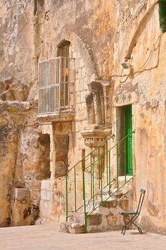 Jerusalem, Israel. Jerusalem prays. Tel Aviv plays. Haifa works.