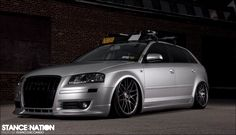 Audi wagon #slammed