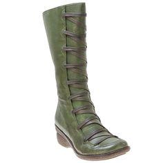 Khaki Grey Black Brown Red Miz Mooz Women's Otis Wedge Boot shoes