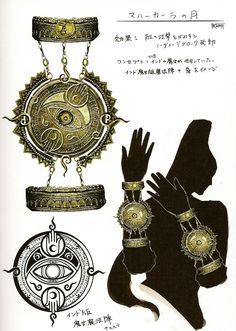 Moon of Mahaa-Kalaa - Bayonetta Concept Art