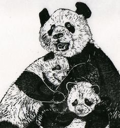 Картинки по запросу black and white linocut