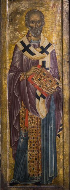 Byzantine Icons, Saint Nicholas, Religious Icons, Orthodox Icons, Fresco, Medieval, Saints, Religion, Drawings