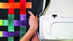 This Colorful Quilt Is So Easy, You Can Have It Finished Today