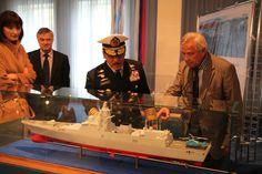 Kunjungan Kasal Laksamana Marsetio ke Galangan Kapal Severnaya Verf  Saint Petersburg - Rusia September 2013, melihat Korvet 20380 Steregush...