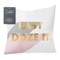 Zoella Easy Dose It Cushion