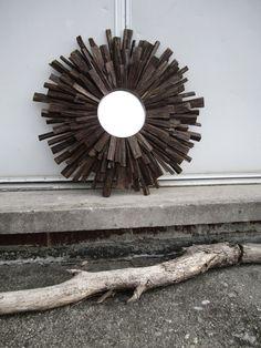 Log in to your Etsy account. Sculpture Art, Sculptures, Bar Music, Sunburst Mirror, Dark Walnut, Home Furnishings, The Originals, Unique Jewelry, Wood