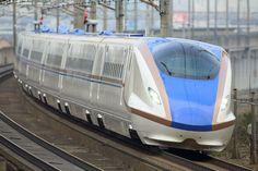 Hokuriku Shinkansen (Bullet Train) Rail Transport, Public Transport, Japan Train, Rail Train, High Speed Rail, Speed Training, Light Rail, Train Rides, Train Travel
