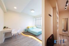 Master Bedroom Minimalist Design Pleasing Interior Design Guide Hdb 3 Room  Industrial Minimalist Design Decorating Inspiration