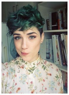 Hair Color Short Green Pixie Cuts 70+ Ideas For 2019 #hair