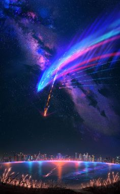 Kimi no na wa Kimi no na wa The post Kimi no na wa appeared first on Tapeten ideen. Your Name Wallpaper, Galaxy Wallpaper, Anime Wallpaper Phone, Anime Scenery Wallpaper, Yuumei Art, Kimi No Na Wa Wallpaper, Blog Wallpaper, The Garden Of Words, Amoled Wallpapers