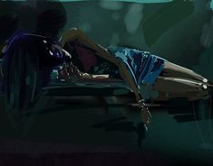 """Check out new work on my @Behance portfolio: """"Sleeping woman"""" http://be.net/gallery/62940011/Sleeping-woman"""