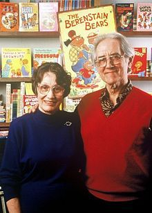 "Stan and Jan Berenstain (often called The Berenstains) were American writers and illustrators best known for creating the children's book series the Berenstain Bears.  Stanley ""Stan"" Berenstain (September 29, 1923 – November 26, 2005) was born and raised in a neighborhood of west Philadelphia and died of cancer in Solebury Township, Pennsylvania. Janice ""Jan"" Berenstain (née Grant; July 26, 1923 – February 24, 2012) was born in Philadelphia."