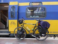 European trains make it so easy to plan bicycle touring routes.