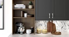 One of the most exciting launches of the year, from Lansdowne Boards, has to be the Perfect Touch range of PVC wrap. Bedroom Cupboards, Kitchen Cupboards, Walnut Cabinets, Kitchen Planner, Kitchen Shower, Kitchen Storage Solutions, Kitchens And Bedrooms, Elegant Kitchens, Shaker Kitchen