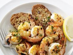 Shrimp Scampi with Garlic Toasts Recipe : Food Network Kitchens : Food Network - FoodNetwork.com