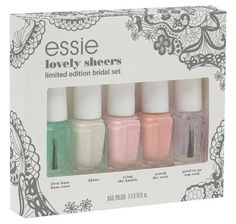 Essie Bridal Spring 2015 Collection