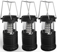 Portable 3 Pack Emergency Lamp Lantern Bright Light 30 LED Outdoor Camping Storm #Lemontec