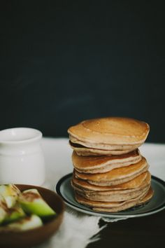 Apple cider pancakes.