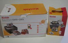 Kodak EasyShare G610 Digital Photo Printer Color Cartridge Paper Kit Bundle 0001178811504 | eBay
