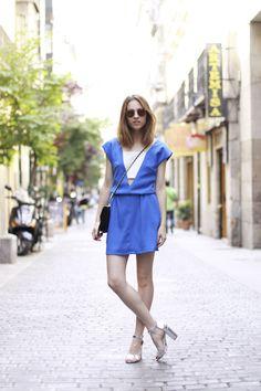 DANSVOGUE / INOUI dress and Chanel Bag