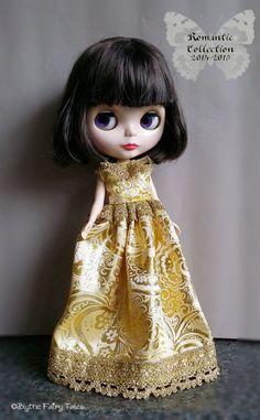 OOAK Blythe handmade dress  Romantic by BlytheFairyTales on Etsy