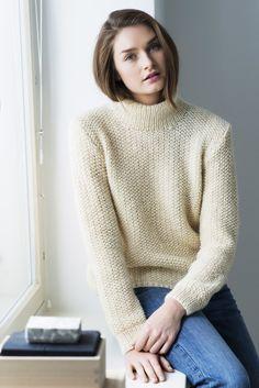 Naisen neulepusero Novita Joki | Novita knits