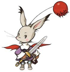View an image titled 'Moogle Mog Knight Art' in our Final Fantasy Tactics Advance art gallery featuring official character designs, concept art, and promo pictures. Final Fantasy Tactics Advance, Final Fantasy 3, Final Fantasy Characters, Video Game Characters, Fantasy Art, Character Art, Character Design, Knight Art, Geek Games