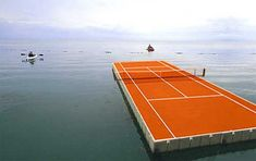Extreme Tennis Court...at least we would know for sure if it was out!
