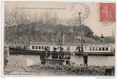 Sucé - Arrivée du bateau de Nantes