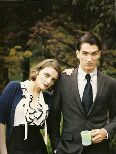 Special Agent Dale Cooper and Audrey Horne, Twin Peaks