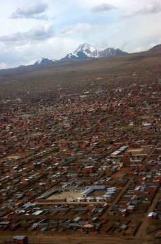 El Alto, Bolivia  100 Incredible Views Out Of Airplane Windows
