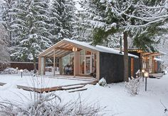 """Today, in our top modular homes from Russia, the construction of """"DublDom"""""""