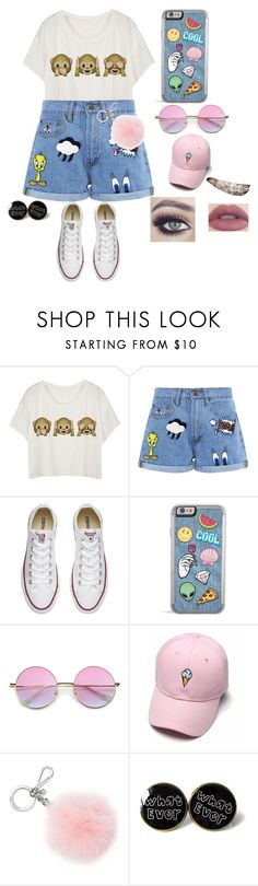 """Going To The Zoo"" by babycomics ❤ liked on Polyvore featuring Paul & Joe Sister, Converse, ZeroUV and Michael Kors"