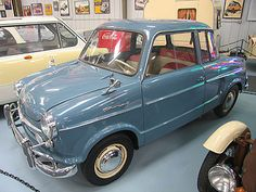 1960 NSU Prinz III. In 1955, the NSU engineering department was instructed to build a new small car. The Prinz III arrived in October 1960 with a new stabilizer bar and the 30hp motor, making it one of the fastest small cars of its time-at 120kph. This attractive car was also technically well sorted out and built.