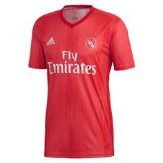 adidas Kids Real Madrid 18 19 Third Jersey Real Coral Vivid Red DP5446 ( beee638a6