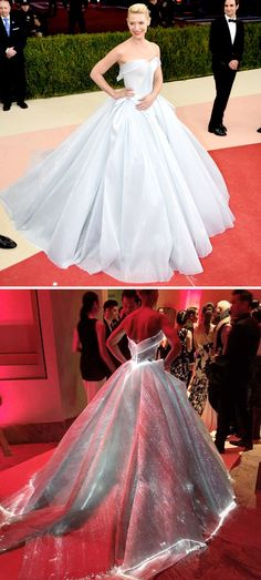 Claire Danes in an incredible lighted Zac Posen ball gown // The Wedding Scoop's favorite bridal red carpet looks from Met Gala 2016 Red Ball Gowns, Ball Dresses, Prom Dresses, Vetement Fashion, Mode Inspiration, Glamour, Beautiful Gowns, Dream Dress, Pretty Dresses