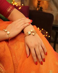 'Designer pulseiras & Bangles s Gold Diamond Earrings, Diamond Bracelets, Gold Bangles, Bangle Bracelets, Kundan Bangles, Tiffany Bracelets, Black Bracelets, Diamond Rings, Manubhai Jewellers
