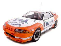 Nissan Skyline GT-R R32 Diecast Model 1/18 Group A 1993 Unicia Jecs #1 1 of 5000 Made by Autoart
