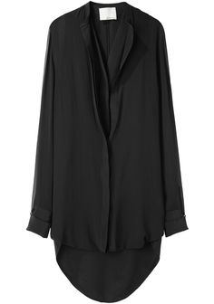 3.1 Phillip Lim Loop Hem Layered Shirtdress