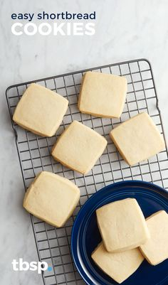 These buttery Easy Shortbread Cookies are spectacular! They are so easy to make and taste divine. These are perfect cookies for the holidays!