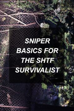 Sniper techniques are incredibly valuable to learn for the SHTF survivalist…