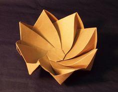 Ideas For Origami Box Octagon Paper Box Origami, Origami Lamp, Origami Wedding, Origami And Kirigami, Paper Crafts Origami, Origami Owl Lockets, Oragami, Origami Crane Tutorial, Paper Architecture